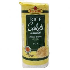 Forrelli Rice Cakes 3.53oz Natural