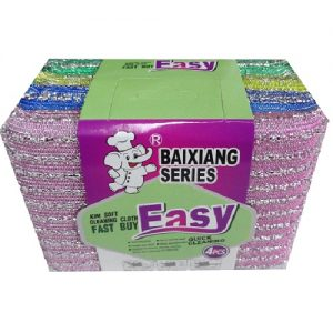 B.S Cleaning Sponges Easy 4pk