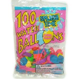 Water Balloons W-Filler 100ct