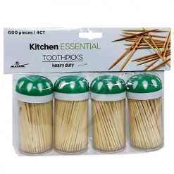 Toothpicks 4pk 600ct Wooden