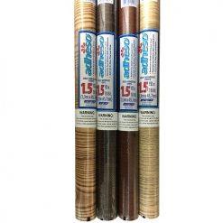 Shelf Liner Asst Wood Clrs 1.5 Yr X 18in