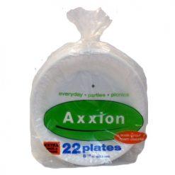 Axxion Plates 22ct 8 7-8ths Plain