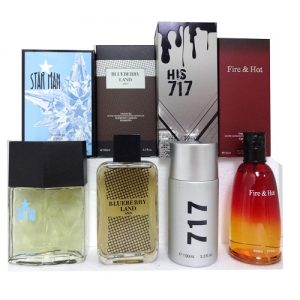 Mens Cologne 4 Asst Scents